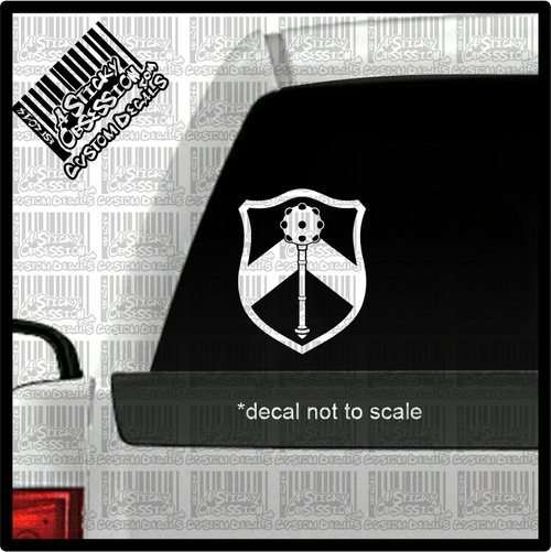 MACE Logo decal on truck