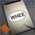 WHEE Oval decal on iPad