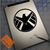 Agents of Shield decal on iPad