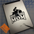 Motocross Mom decal on iPad