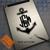 Anchor Monogram on iPad