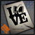 Love Write Blog Decal sticker on Tablet