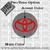 Toyota center wheel center cap overlay color option
