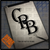 CBB letter logo on iPad