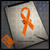MS Multiple Sclerosis decal on ipad