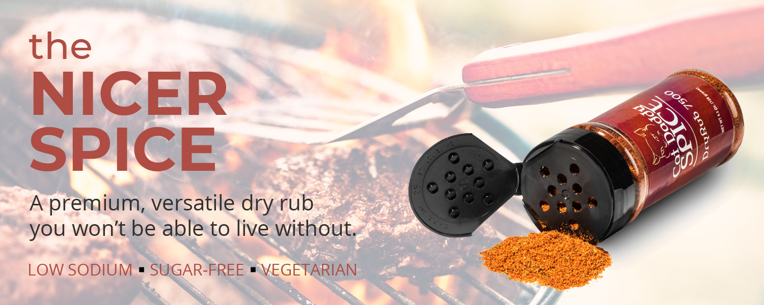 Cat Daddy Spice the Ncer Spice premium versatile dry rub you won't  be able to live with out
