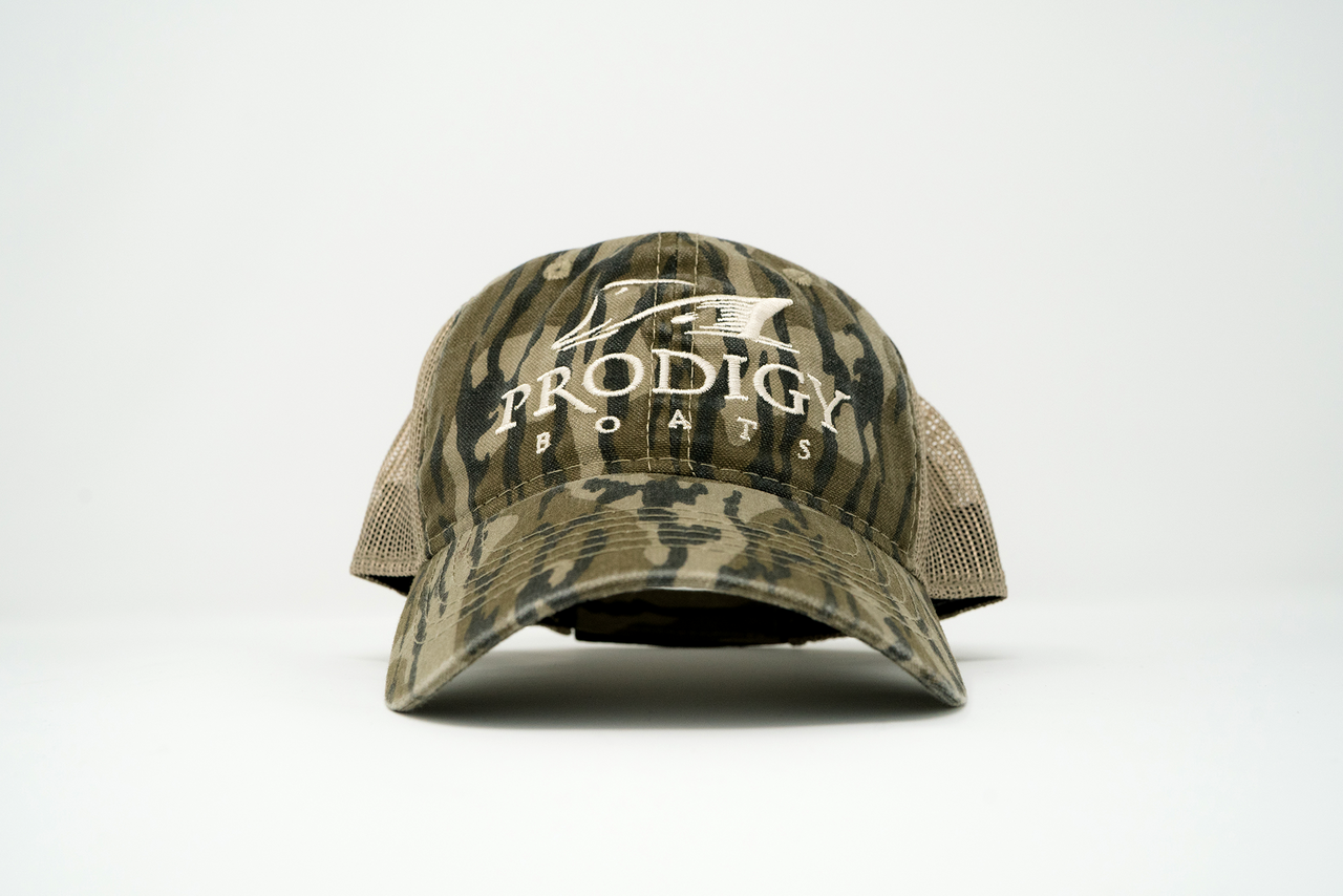 Prodigy Unstructured Mesh Hat - Mossy Oak® Bottomland® - Prodigy Boats 5a45e448bb5