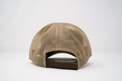 Prodigy Unstructured Mesh Hat - Chocolate/Khaki
