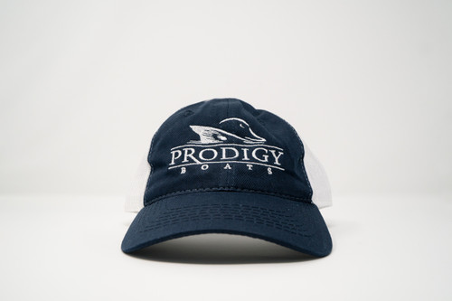 Prodigy Mesh Hat - Navy/White