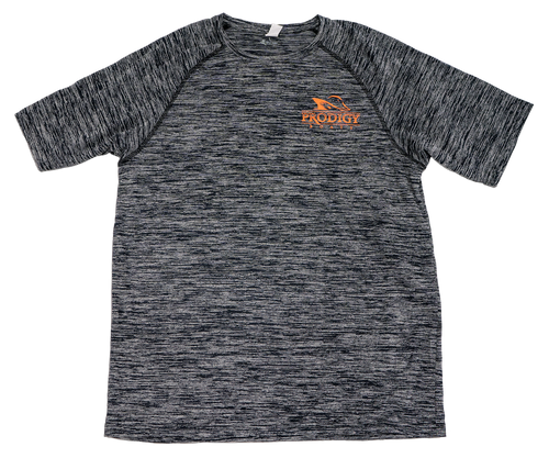 Prodigy Dry-Tek T-Shirt - Black/Orange Ink