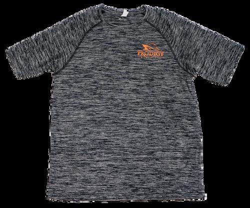 Prodigy Dry-Tek T-Shirt - Black/Orange Ink