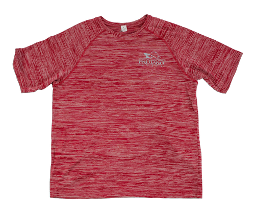 Prodigy Dry-Tek T-Shirt - Red/Gray Ink