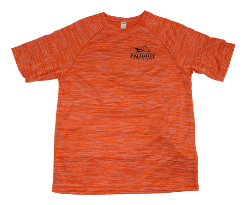 Prodigy Dry-Tek T-Shirt - Orange/Black Ink