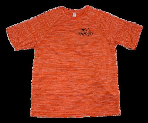 Prodigy Dry-Tek T-Shirt - Orange/Black Ink