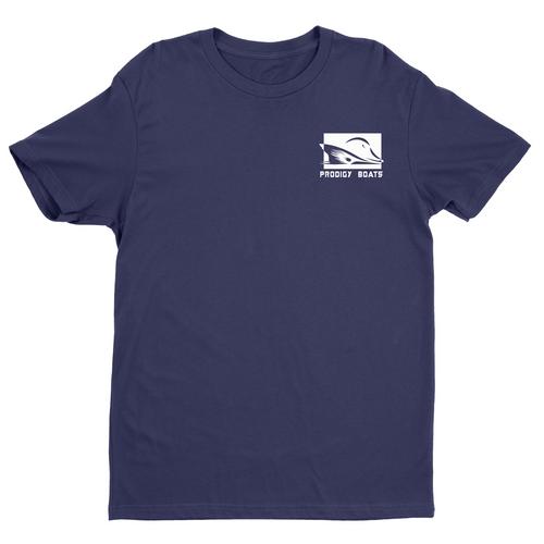 Prodigy Classic T-Shirt - Navy/White Ink