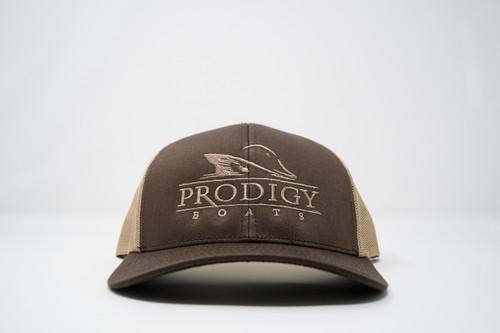Prodigy Snapback - Chocolate/Khaki