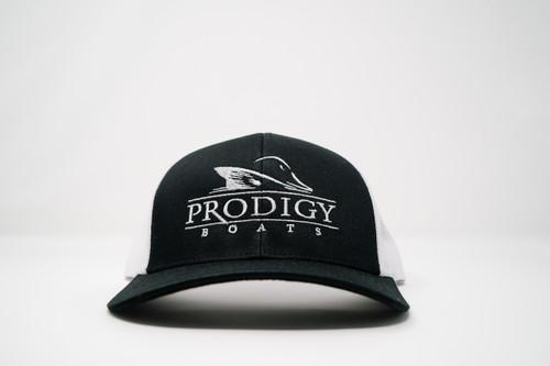 Prodigy Snapback - Black/White