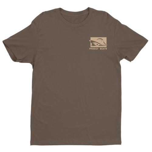 Prodigy Classic T-Shirt - Chocolate/Khaki Ink