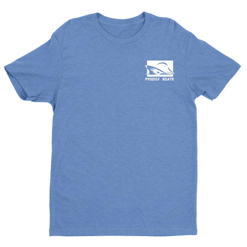 Prodigy Classic T-Shirt - Heather Blue/White