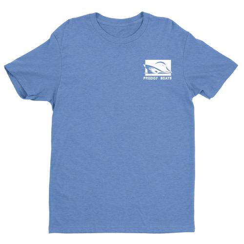 Prodigy Classic T-Shirt - Heather Blue/White