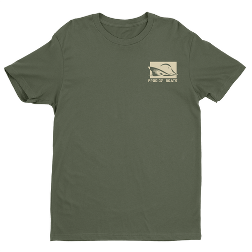 Prodigy Classic T-Shirt - Military Green/Tan