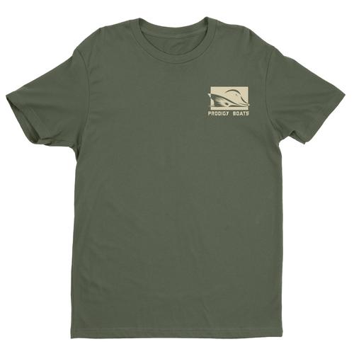 Prodigy Classic T-Shirt - Military Green/Tan