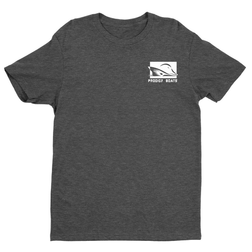 Prodigy Classic T-Shirt - Heather Grey/White