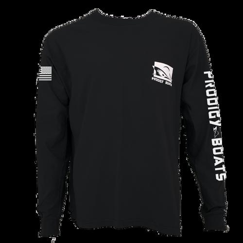 Long Sleeve T-Shirt - Black/White