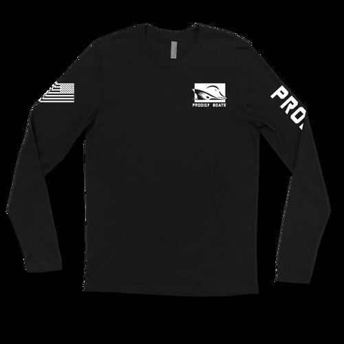 Long Sleeve Dry-Tek - Black/White