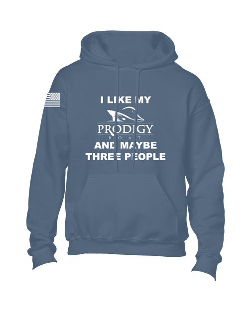 Cotton Hoodie - Limited Edition - Heather Navy