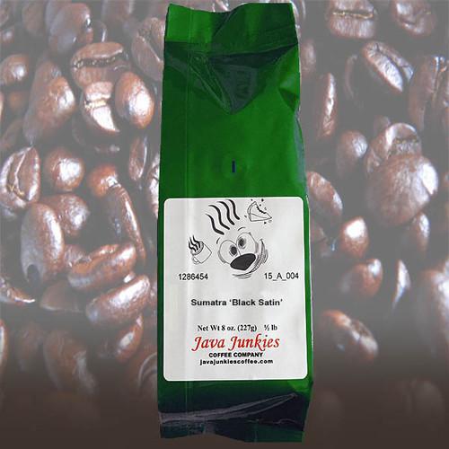 Sumatra 'Black Satin' Coffee