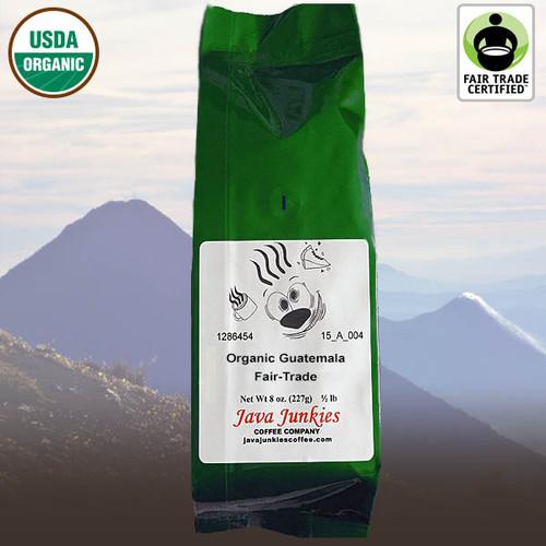 Organic Guatemala Fair-Trade Coffee