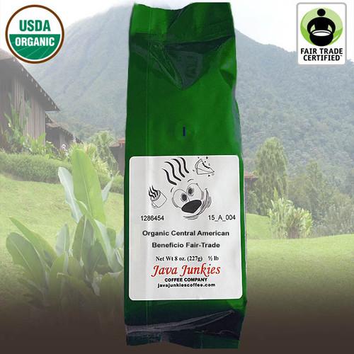 Organic Central American Beneficio Fair-Trade Coffee
