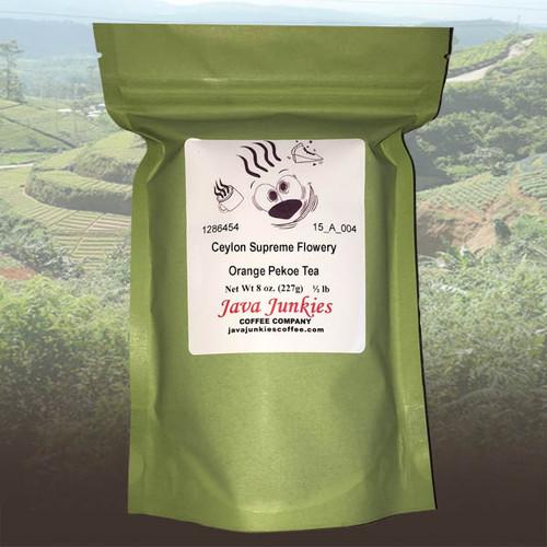 Ceylon Supreme Flowery Orange Pekoe Tea