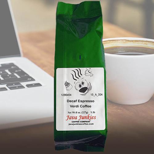 Decaf Espresso Verdi Coffee