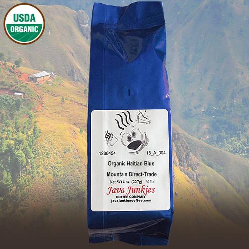 Organic Haitian Blue Mountain Direct-Trade Coffee