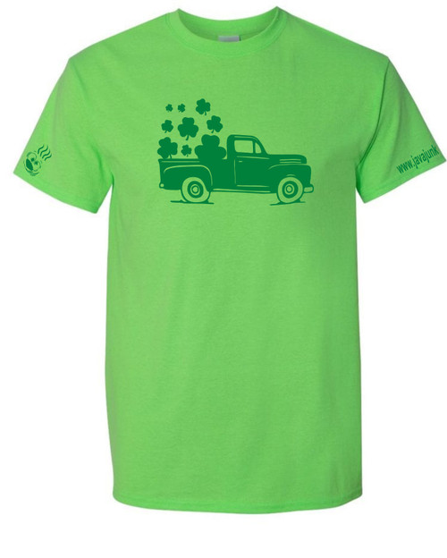 Truck with Clovers