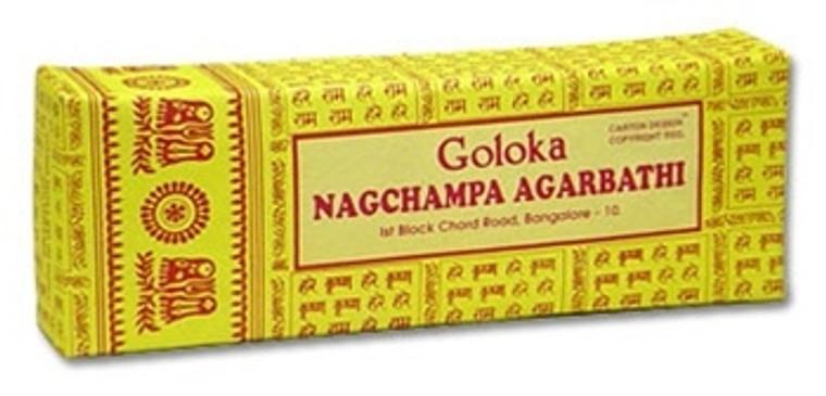 Goloka Nag Champa Incense 250 gram