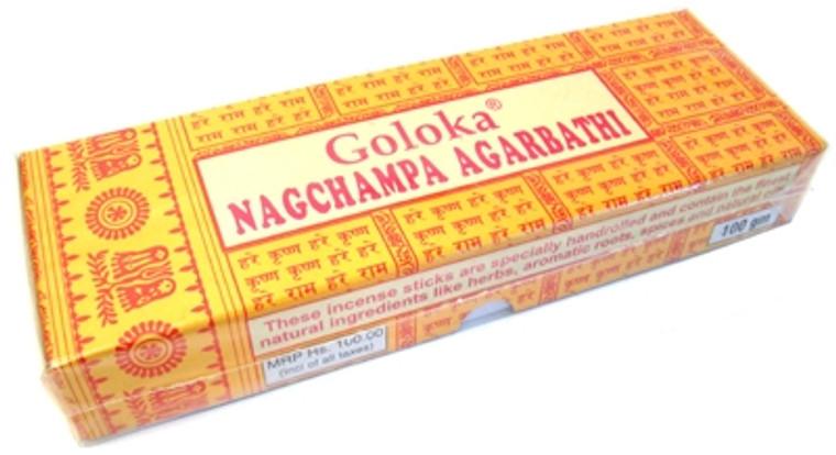 Goloka Nag Champa Incense 100 gram