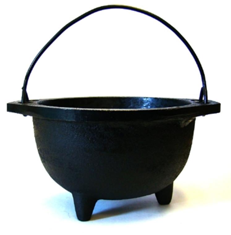 Cast Iron Cauldron 6 inches