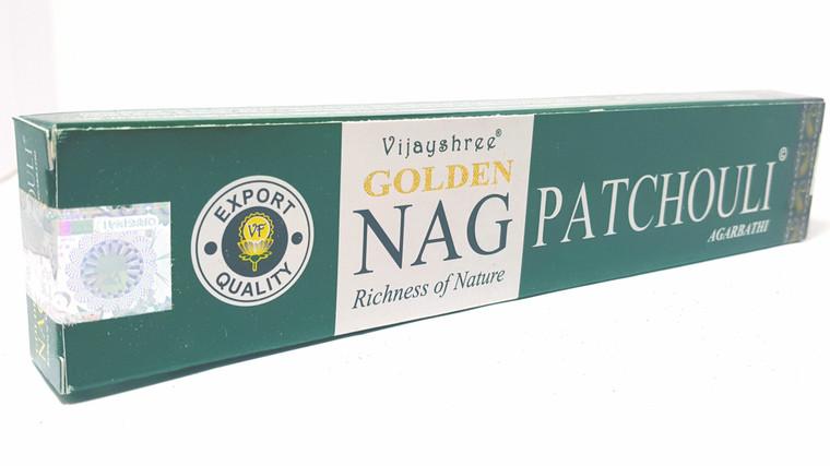 Vijayshree - Golden Nag Patchouli Incense 15g