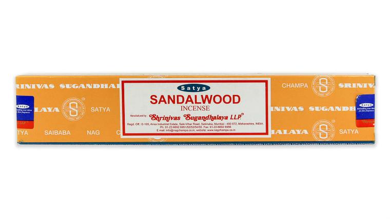 Sandalwood Incense by Satya 15 gram