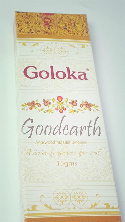 Photo of front Goloka Good Earth Incense 15 gram