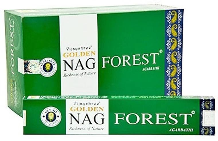 Golden Nag Forest Incense 15g