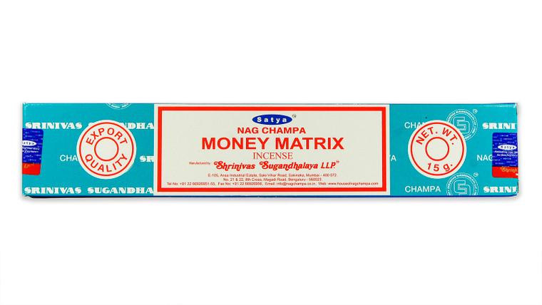 Money Matrix Incense by Satya 15 gram