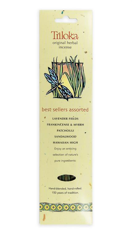 Best Sellers Assorted Triloka Original Incense 10 Sticks