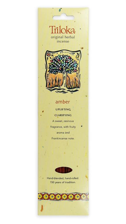 Amber Triloka Original Incense Sticks 10 Sticks