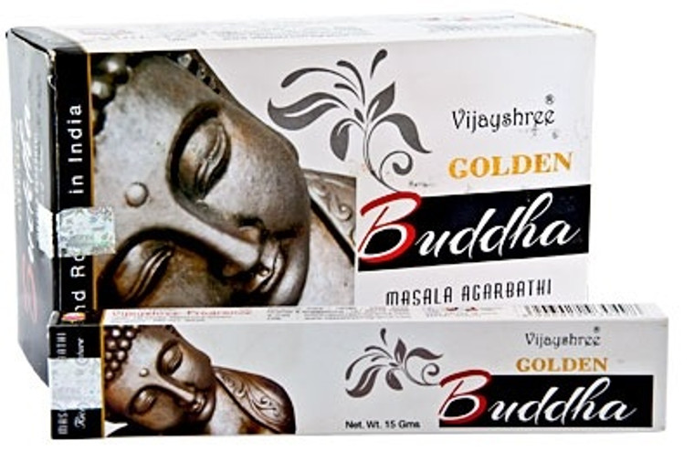 Golden Buddha Incense 15g