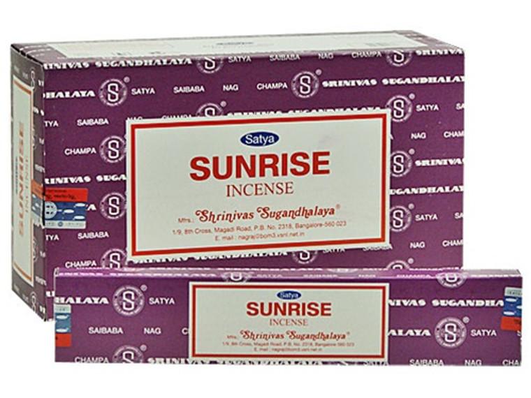 Satya Sunrise Incense 15 Gram