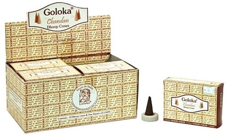 Goloka Chandan Incense Cones